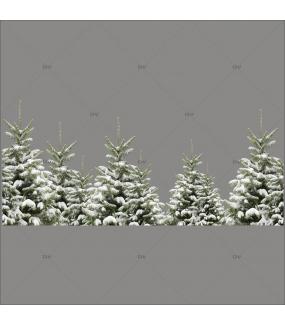 sticker-frise-paysage-sapins-enneiges-135-CM-vitrophanie-vitrine-noel-electrostatique-sans-colle-DECO-VITRES-FSP3S