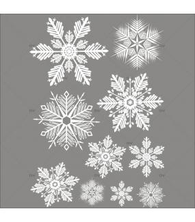 sticker-cristaux-blancs-10-vitrophanie-vitrine-noel-electrostatique-sans-colle-DECO-VITRES-CX31