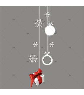 sticker-suspensions-paquet-cadeau-boules-cristaux-rouge-blanc-vitrophanie-vitrine-noel-electrostatique-sans-colle-DECO-VITRES-FB56