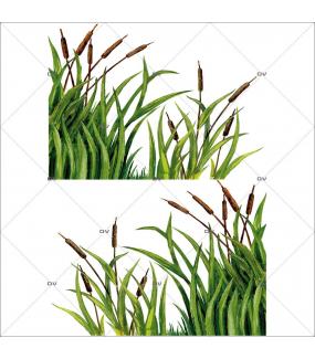 Sticker-angle-de-joncs-automne-vitrophanie-décoration-vitrine-automnale-électrostatique-sans-colle-repositionnable-réutilisable-DECO-VITRES