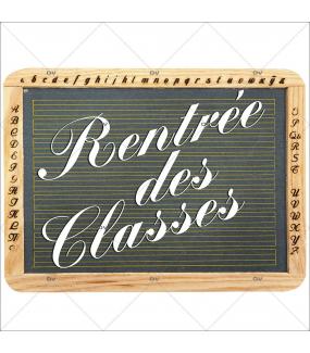 Sticker-ardoise-fourniture-scolaire-craie-vitrophanie-décoration-vitrine-rentrée-des-classes-électrostatique-sans-colle-repositionnable-réutilisable-DECO-VITRES