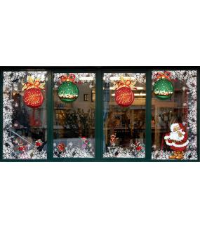Sticker-animaux-de-noël-déguisés-vitrophanie-décoration-vitrine-noël-électrostatique-sans-colle-repositionnable-réutilisable-DECO-VITRES