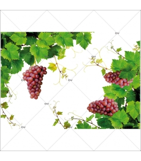 Sticker-angles-feuilles-de-vigne-grappes-raisins-vitrophanie-décoration-vitrine-cave-caviste-bar-à-vins-restaurant-supermarché-électrostatique-sans-colle-repositionnable-réutilisable-DECO-VITRES