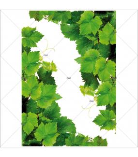 Sticker-angles-feuilles-de-vigne-vitrophanie-décoration-vitrine-cave-caviste-bar-à-vins-restaurant-supermarché-électrostatique-sans-colle-repositionnable-réutilisable-DECO-VITRES