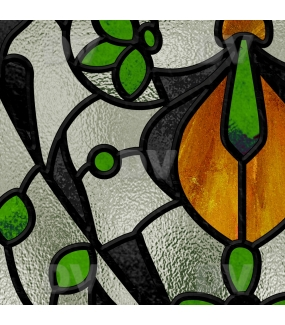 Sticker-vitrail-art-nouveau-retro-vintage-vitrophanie-électrostatique-sans-colle-repositionnable-réutilisable-ou-adhésif-décoration-fenêtres-vitres-DECO-VITRES
