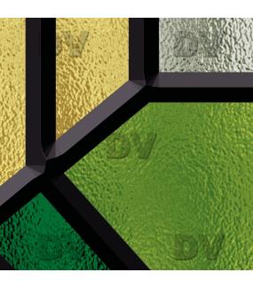 Sticker-vitrail-géométrique-vert-art-deco-ancien-vintage-retro-vitrophanie-électrostatique-sans-colle-repositionnable-réutilisable-ou-adhésif-décoration-fenêtres-vitres-DECO-VITRES