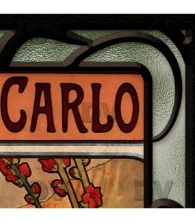 Sticker-vitrail-Mucha-fleurs-art-nouveau-retro-vintage-chemins-de-fer-monaco-vitrophanie-électrostatique-sans-colle-repositionnable-réutilisable-ou-adhésif-décoration-fenêtres-vitres-DECO-VITRES