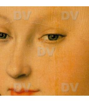 Sticker-vitrail-Cranach-Vierge-enfant-jésus-pommier-retro-vintage-vitrophanie-électrostatique-sans-colle-repositionnable-réutilisable-ou-adhésif-décoration-fenêtres-vitres-DECO-VITRES