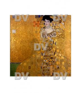 Sticker-vitrail-Klimt-portrait-art-nouveau-retro-vintage-vitrophanie-électrostatique-sans-colle-repositionnable-réutilisable-ou-adhésif-décoration-fenêtres-vitres-DECO-VITRES