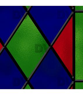 Sticker-vitrail-géométrique-losanges-bleu-rouge-vert-ancien-vintage-retro-vitrophanie-électrostatique-sans-colle-repositionnable-réutilisable-ou-adhésif-décoration-fenêtres-vitres-DECO-VITRES