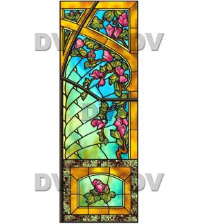 VITP1416 - Sticker vitrail personnalisé
