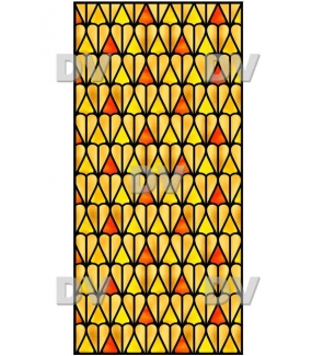VITP1420 - Sticker vitrail personnalisé