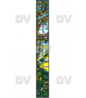 VITP1455 - Sticker vitrail format personnalisé