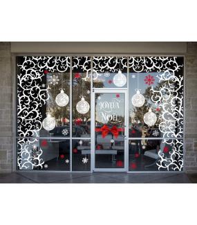 Sticker-géant-volutes-givrées-branchages-stylisés-blanc-thème-chic-graphique-vitrophanie-décoration-vitrine-noël-électrostatique-sans-colle-repositionnable-réutilisable-DECO-VITRES