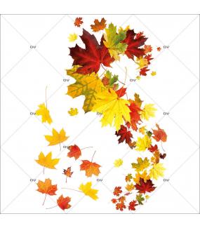 Sticker-angle-feuilles-mortes-d-automne-érable-vitrophanie-décoration-vitrine-automnale-électrostatique-sans-colle-repositionnable-réutilisable-DECO-VITRES