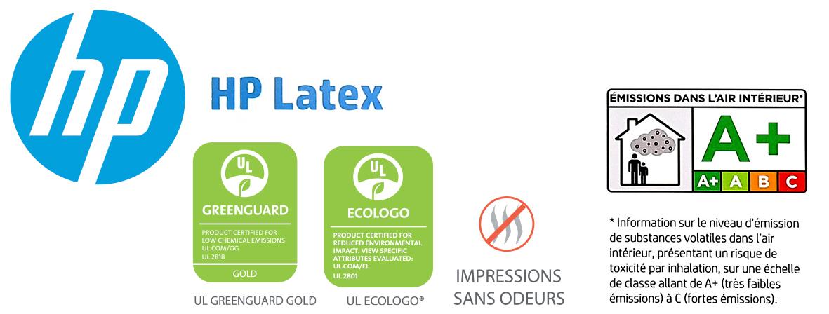 labels écologiques encres latex