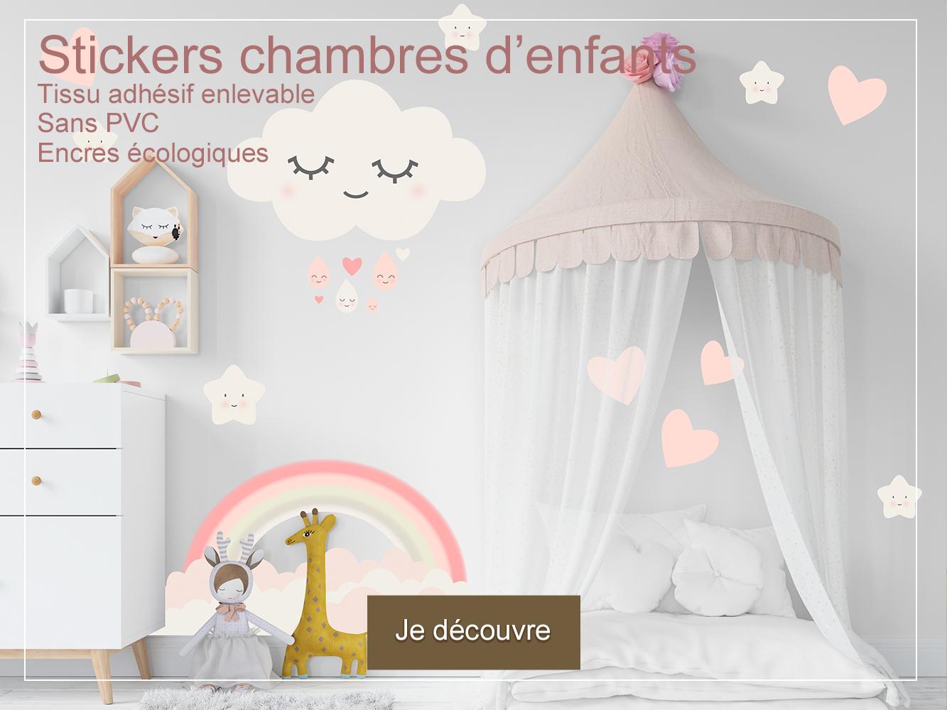 photo-stickers-chambre-d-enfant-bebe-doux-reves-coeurs-tissu-adhesif-enlevable-sans-PVC-encres-ecologiques-latex-DECO-VITRES