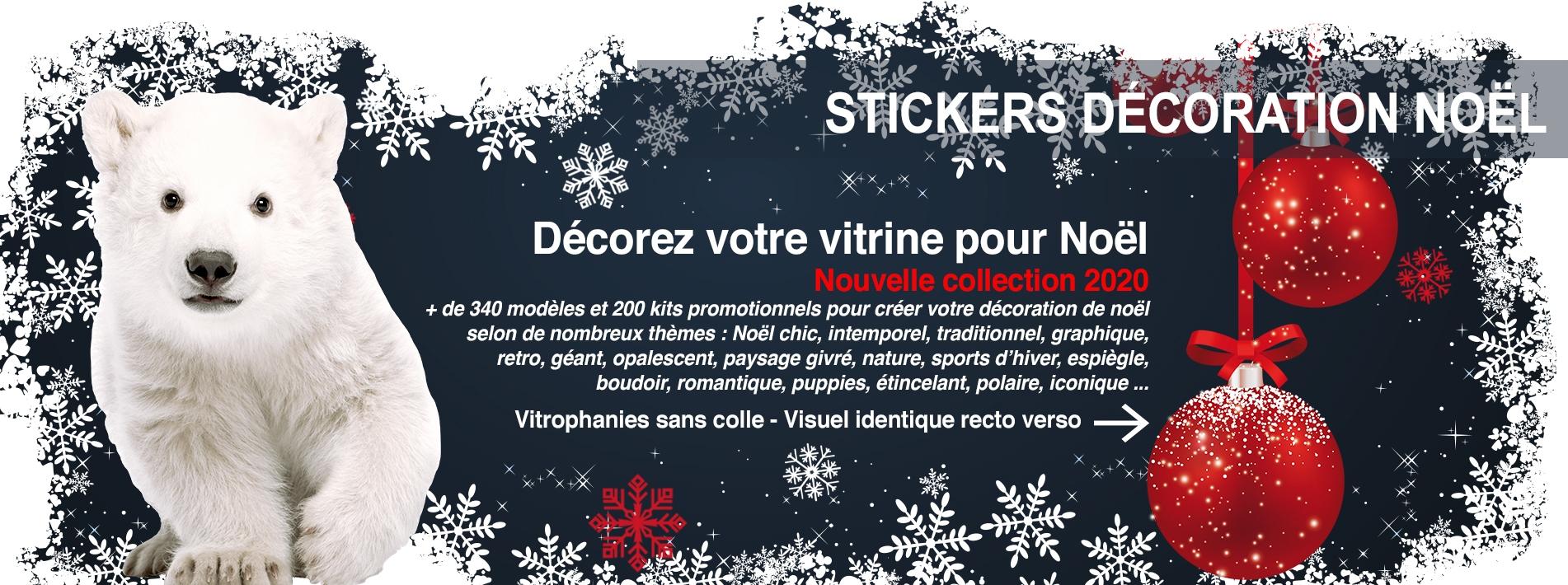 Stickers Noel Fenetre Superbes Stickers Electrostatiques D/écoratifs au Motif Pere Noel Decoration Vitrine Noel Petit Deux Pere Noel et Tra/îneau /à Rennes